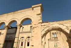 Παλάτι Diocletian ` s στη διάσπαση, Κροατία Στοκ Εικόνες