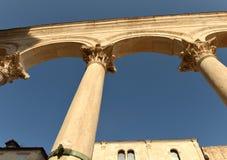 Παλάτι Diocletian ` s στη διάσπαση, Κροατία Στοκ εικόνες με δικαίωμα ελεύθερης χρήσης