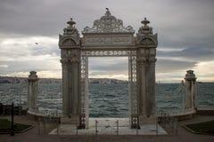 Παλάτι Dolmabahçe στη Ιστανμπούλ στοκ εικόνες με δικαίωμα ελεύθερης χρήσης