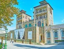 Παλάτι Golestan και κήπος, Τεχεράνη Στοκ εικόνες με δικαίωμα ελεύθερης χρήσης