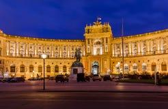 Παλάτι Hofburg στη Βιέννη Αυστρία Στοκ φωτογραφία με δικαίωμα ελεύθερης χρήσης