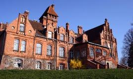 παλάτι jaunmoku Στοκ εικόνες με δικαίωμα ελεύθερης χρήσης