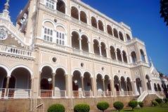 Παλάτι Khan Aga, Pune, Maharashtra, Ινδία Στοκ Φωτογραφία