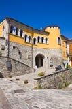 Παλάτι Loreti Satriano Di Lucania Ιταλία Στοκ Εικόνες