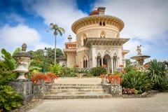 Παλάτι Monserrate, κήπος Sintra Πορτογαλία στοκ φωτογραφίες