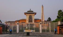 Παλάτι Narayanhiti στο Κατμαντού, Νεπάλ Στοκ φωτογραφία με δικαίωμα ελεύθερης χρήσης