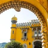 Παλάτι Pena στοκ εικόνες