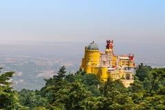 Παλάτι Pena Sintra στοκ εικόνα με δικαίωμα ελεύθερης χρήσης