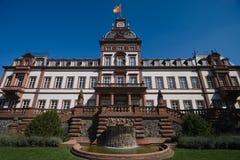 παλάτι philippsruhe Στοκ φωτογραφία με δικαίωμα ελεύθερης χρήσης
