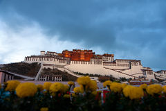 Παλάτι Potala σε Lhasa Στοκ Φωτογραφίες