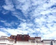 Παλάτι Potala στο Θιβέτ, Κίνα στοκ εικόνες