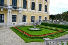 παλάτι schonbrunn Βιέννη στοκ εικόνες