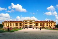Παλάτι Schonbrunn της Βιέννης Στοκ φωτογραφία με δικαίωμα ελεύθερης χρήσης