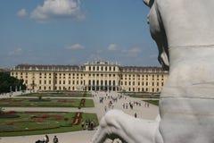 παλάτι schonbrunn Στοκ φωτογραφία με δικαίωμα ελεύθερης χρήσης