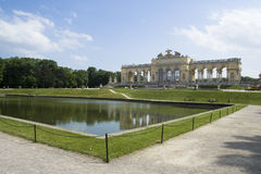 παλάτι schonbrunn Στοκ φωτογραφίες με δικαίωμα ελεύθερης χρήσης