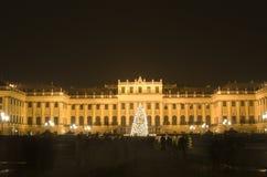 παλάτι shonbrunn Βιέννη Χριστουγέν&nu στοκ φωτογραφίες