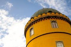 Παλάτι Sintra σε μια ομιχλώδη ημέρα στοκ φωτογραφίες με δικαίωμα ελεύθερης χρήσης