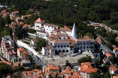 Παλάτι Sintra σε Sintra, Πορτογαλία στοκ φωτογραφία με δικαίωμα ελεύθερης χρήσης