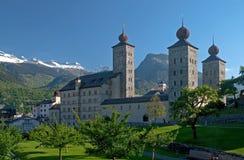 Παλάτι Stockalper στοκ εικόνες με δικαίωμα ελεύθερης χρήσης