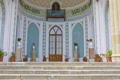 Παλάτι Vorontcovskiy, Κριμαία, λεπτομέρεια Στοκ φωτογραφία με δικαίωμα ελεύθερης χρήσης