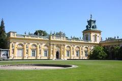 Παλάτι Wilanow, Πολωνία Στοκ εικόνα με δικαίωμα ελεύθερης χρήσης