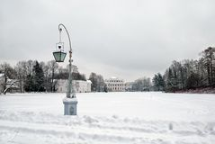 Παλάτι Yelagin στο νησί Yelagin στη Αγία Πετρούπολη Ρωσία Στοκ εικόνες με δικαίωμα ελεύθερης χρήσης