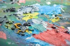 παλέτα χρωμάτων Στοκ φωτογραφίες με δικαίωμα ελεύθερης χρήσης