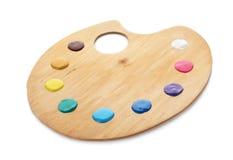 παλέτα χρωμάτων στοκ εικόνα με δικαίωμα ελεύθερης χρήσης