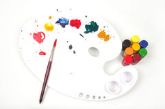 παλέτα χρωμάτων στοκ εικόνα