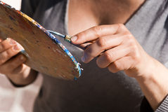 παλέτα χρώματος Στοκ φωτογραφίες με δικαίωμα ελεύθερης χρήσης