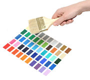 παλέτα χρώματος Στοκ Φωτογραφία