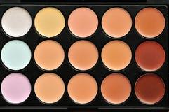 Παλέτα Makeup Στοκ εικόνες με δικαίωμα ελεύθερης χρήσης