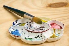 Παλέτα Watercolour Στοκ Φωτογραφίες