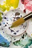 Παλέτα Watercolour Στοκ εικόνα με δικαίωμα ελεύθερης χρήσης