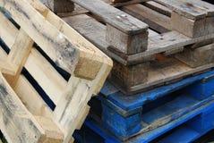 παλέτες ξύλινες Στοκ εικόνα με δικαίωμα ελεύθερης χρήσης