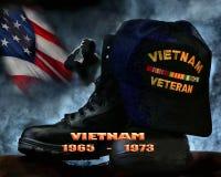 Παλαίμαχος του Βιετνάμ Στοκ φωτογραφία με δικαίωμα ελεύθερης χρήσης