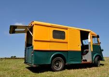 παλαίμαχος truck παράδοσης Στοκ εικόνα με δικαίωμα ελεύθερης χρήσης