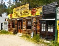 Παλαιά άγρια πόλης αίθουσα δυτικών κάουμποϋ, Αμερική Στοκ φωτογραφία με δικαίωμα ελεύθερης χρήσης