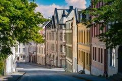 Παλαιά άποψη πόλεων Alesund Νορβηγία, Σκανδιναβία, Ευρώπη στοκ εικόνα