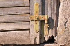 Παλαιά άρθρωση πορτών Στοκ εικόνα με δικαίωμα ελεύθερης χρήσης