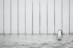 Παλαιά άσπρη επικάλυψη υποβάθρου φρακτών Στοκ εικόνες με δικαίωμα ελεύθερης χρήσης