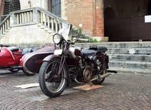 Παλαιά έκθεση μοτοσικλετών, Rimini, Ιταλία στοκ φωτογραφίες