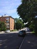 Παλαιά ήρεμη πόλη Στοκ Εικόνες