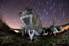 παλαιά ίχνη αστεριών νύχτας &alp Στοκ φωτογραφίες με δικαίωμα ελεύθερης χρήσης