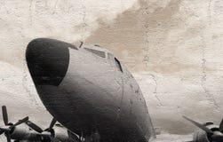 Παλαιά αεροσκάφη μετάλλων Στοκ Φωτογραφίες