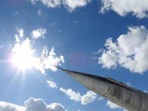 Παλαιά αεροσκάφη πλησίον, δέρμα, μέρη και τμήματα μηχανών στοκ φωτογραφίες