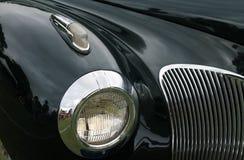 Παλαιά αμερικανική μπροστινή λεπτομέρεια αυτοκινήτων Στοκ Εικόνες