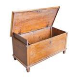 Παλαιά ανακαινισμένα ξύλινα έπιπλα στο άσπρο υπόβαθρο στοκ εικόνα με δικαίωμα ελεύθερης χρήσης