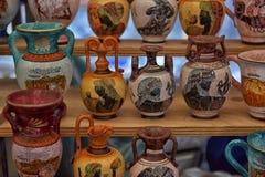 Παλαιά αναμνηστικά βάζων για την πώληση Στοκ Εικόνες