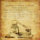 Παλαιά ανασκόπηση εργαστηρίων χημείας grunge ελεύθερη απεικόνιση δικαιώματος